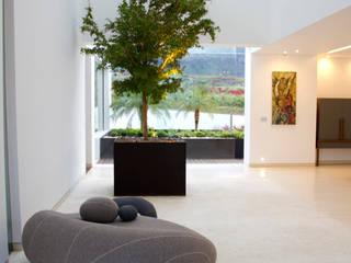 CASA DEL AGUA Pasillos, vestíbulos y escaleras modernos de Almazán y Arquitectos Asociados Moderno
