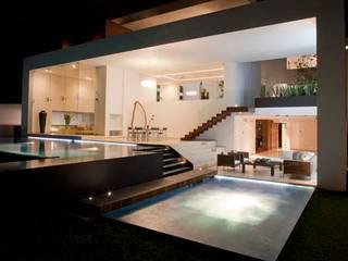 CASA DEL AGUA Casas modernas de Almazán y Arquitectos Asociados Moderno