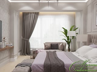 Chambre classique par Компания архитекторов Латышевых 'Мечты сбываются' Classique