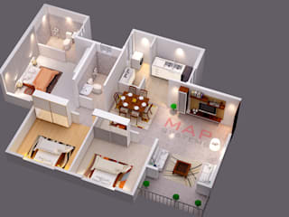 3D Floor Plan Designs by MAP Systems