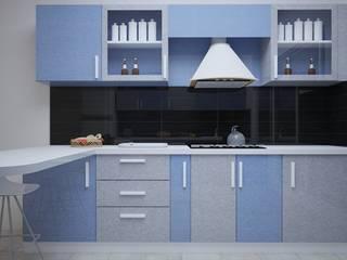 Modular Kitchen Interior Design by Vinra Interiors Modern