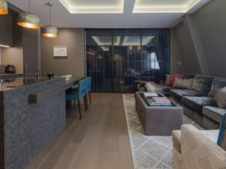 Fitzrovia: London Roselind Wilson Design Modern living room