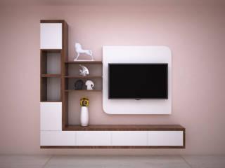 Entertainment Unit Modern living room by Vinra Interiors Modern