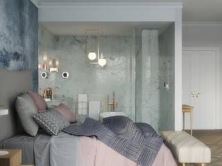 Scandinavian Master Bedroom Dormitorios de estilo escandinavo de Isabel Gomez Interiors Escandinavo