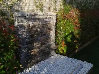 Damla Şelale – Peyzaj ve Modern Bahçe Şelalesi Uyumu:  tarz Zen bahçesi