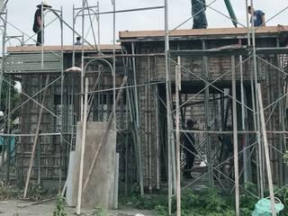 建築體灌漿工程:   by 懷謙建設有限公司