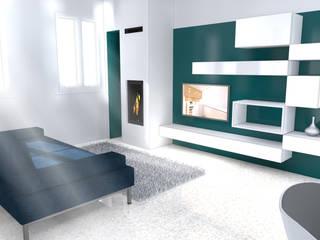 Salon de style  par Architetti Baggio