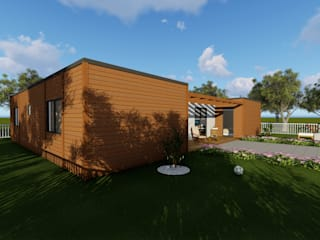 Discovercasa | Casas de Madeira & Modulares Wooden houses Wood Brown