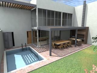 Casa VA: Terrazas de estilo  por QUIRSA arquitectos