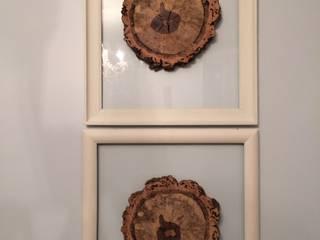 Discos de madeira:   por Inês Florindo Lopes