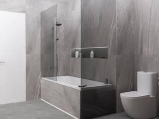 Buro19.1 Minimalist style bathroom