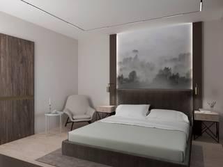 Projekty,  Sypialnia zaprojektowane przez Buro19.1