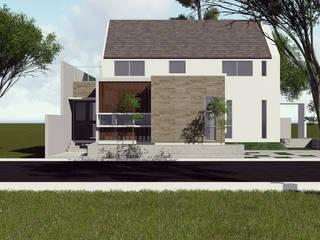 Rumah Tinggal Bekasi Oleh SARAGA Studio Arsitektur