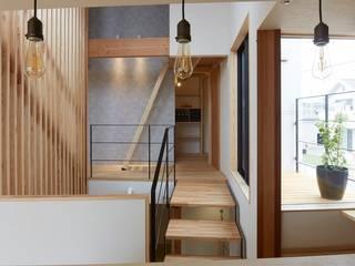 斜の家: 建築設計事務所RENGEが手掛けたです。