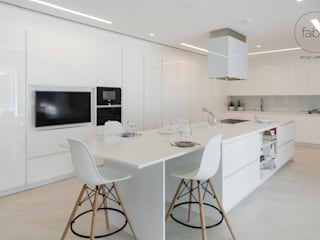 FABRI Built-in kitchens White