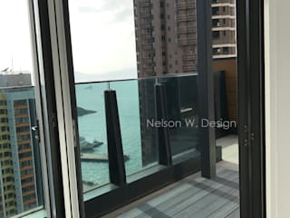 Rooftop Terrace | Kennedy Town | Hong Kong by Nelson W Design Modern