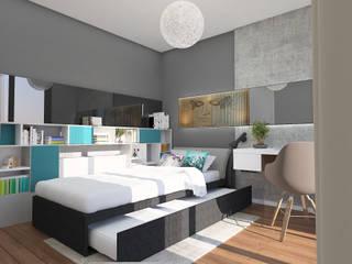 FARGO DESIGNS – PROJE 1:  tarz Yatak Odası