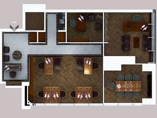 FARGO DESIGNS – PROJE 3:  tarz Çalışma Odası