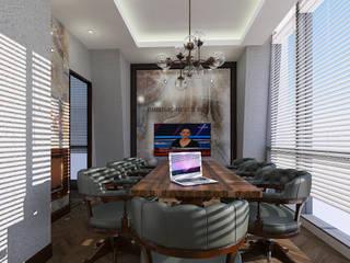 FARGO DESIGNS – PROJE 3: modern tarz Çalışma Odası
