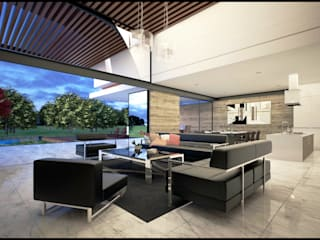 Interior: Casas de estilo  por Geometrica Arquitectura