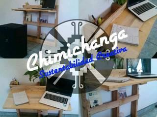 Escritorios de Chimichanga Sustentabilidad Creativa Minimalista