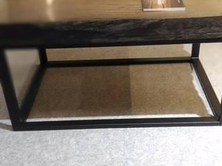 Stoliki kawowe z blatami z Czarnego Dębu od Evorio Klasyczny