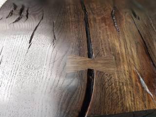 Konsole z blatami z Czarnego Dębu od Evorio Klasyczny