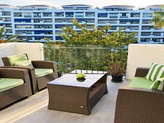 Balcon, Veranda & Terrasse modernes par Famaser reformas y construcción Moderne