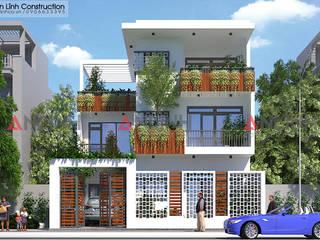 Công trình biệt thự phố NGUYỄN KIM SƠN ở Bình Phước bởi CÔNG TY THIẾT KẾ XÂY DỰNG AN LĨNH