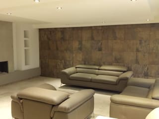 Remodelación Sala : Salas de estilo  por Ziclos Arquitectos