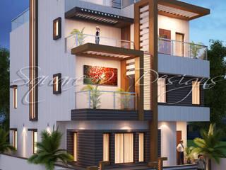 TARIQ KAMAL BUNGALOW 1 Square Designs Minimalist houses
