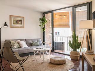 Phòng khách phong cách Địa Trung Hải bởi Bloomint design Địa Trung Hải