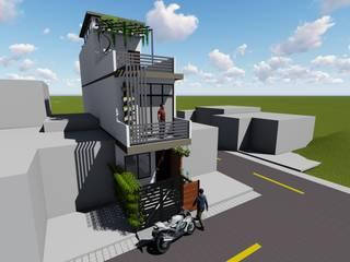 Single family home by Mahajan Architectural Studio,