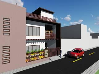 Mrs. Babita's Residence:  Single family home by Mahajan Architectural Studio