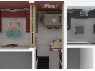 Mr. Shekhar's Residence Interiors:  Floors by Mahajan Architectural Studio