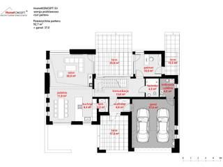 de style  par HomeKONCEPT | Projekty Domów Nowoczesnych
