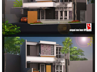 Antapani Town House Oleh SARAGA Studio Arsitektur