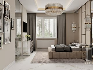 Bedroom by GLAM PROJECT Sp. z o.o., Modern