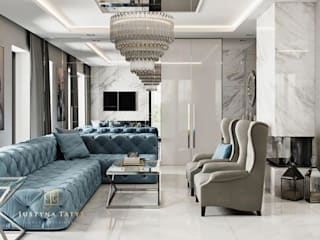 Living room by GLAM PROJECT Sp. z o.o., Modern