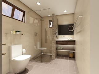 Renovation and Expansion - Bathroom Modern bathroom by homify Modern