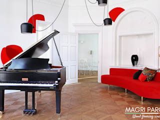 Magri Parquet Living room لکڑی