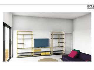 Living room by Bolz Licht & Wohnen