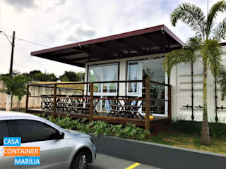 Gastronomy by Casa Container Marilia - Arquitetura em Container, Modern