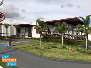 de Casa Container Marilia - Barros Assuane Arquitetura Moderno