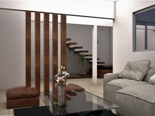 Salones de estilo moderno de Osuna Arquitecto Moderno