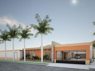 Remodelacion y Visualización 3D de Osuna Arquitecto Moderno
