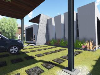 Residencia: Casas unifamiliares de estilo  por Arquitecto Vizcaino