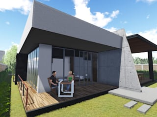 Residencia: Casas de estilo  por Arquitecto Vizcaino