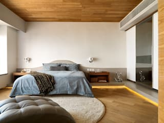 Casa N Another Design International Modern style bedroom Wood Beige