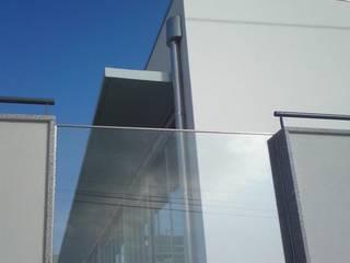 Guarda em vidro: Pavimentos  por João Oliveira, arquitecto